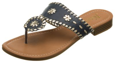 c9b809812d79b2 Natural Reflections Natalie Toe Post Sandals for Ladies Navy 6M