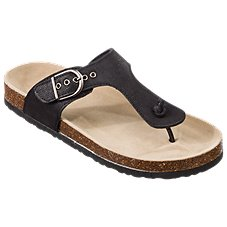 4bbc62289fa Natural Reflections Perri Toe Post Sandals for Ladies