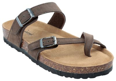Natural Reflections Maggie Buckle Toe Loop Sandals For