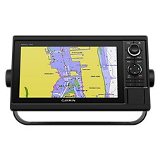 Garmin GPSMAP 1042xsv Chartplotter/Sonar Networking Combo with All-in-One Transducer Image