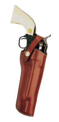 """Bianchi 1L Lawman Western Belt Holster 7.5"""" Colt 22 New Frontier/Peacemake by USA Bianchi Shooting & Gun Hip Holsters"""