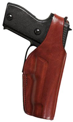 Bianchi 19L Thumbsnap Belt Holster Concealment Holster Colt Government/Mustang 380 by USA Bianchi Shooting & Gun Inside-The-Waist Holsters