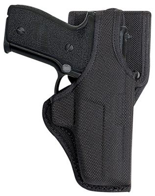 Bianchi 7115 Vanguard Mid-Ride Duty Holster with Jacket Slot Belt Loop  by