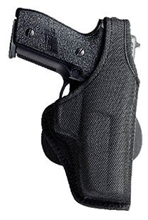 Bianchi 7500 Thumbsnap Paddle Holster Black Right Hand Size 9 Daewood Dh380/Dp52 by USA Bianchi Shooting & Gun Hip Holsters