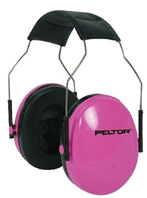 3M Peltor Junior Earmuffs for Youth Pink