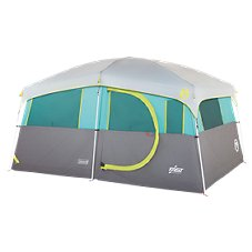 Coleman Tenaya Lake Lighted Fast Pitch 8-Person Cabin Tent with Closet