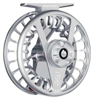 Redington Rise Fly Reel – Silver – 9/10