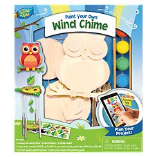 Master of Ahhh! Wooden Owl Chime Craft and Paint Kit
