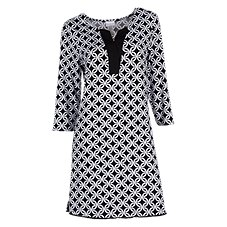 Wearabouts by Dotti Links Tunic Swimsuit Cover-Up for Ladies