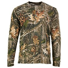 TrueTimber Long-Sleeve Camo T-Shirt for Men