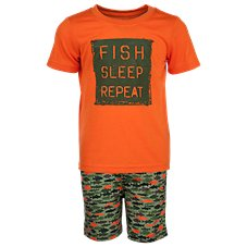 Bass Pro Shops Fish Print Pajama Set for Toddlers or Boys