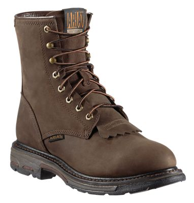 005e79c65ef Ariat Workhog H2O Waterproof Work Boots for Men Oily Distressed Brown 9W