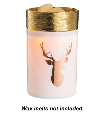 Candle Warmers, Etc. Golden Stag Illumination Wax Warmer by
