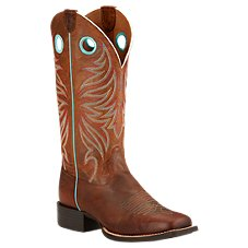 Ariat Round Up Ryder Western Boots for Ladies