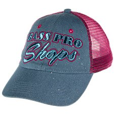 Bass Pro Shops Sparkle & Mesh Ball Cap for Kids