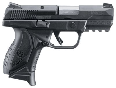Ruger American Compact Semi-Auto Pistol 9Mm by USA Ruger Pistols