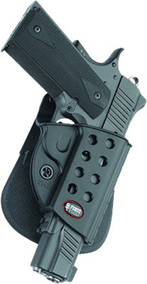 Fobus Usa E2 Series Paddle Holster Paddle Holster 1911-Style W/Rails by USA Fobus Shooting & Gun Hip Holsters