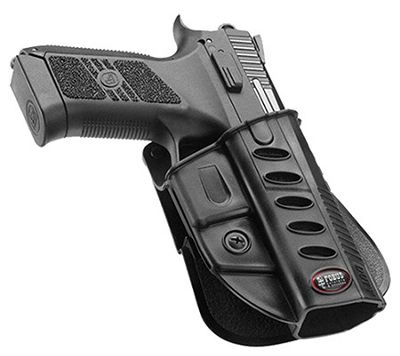 Fobus Usa E2 Series Paddle Holster Paddle Holster Cz P-07 by USA Fobus Shooting & Gun Hip Holsters