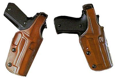"""Galco Gunleather Dual Position Phoenix Holster 5"""" N Frame, Shooting & Gun Hip Holsters in USA & Canada"""