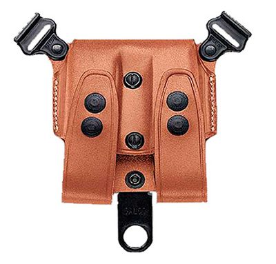 Galco Gunleather Double Magazine Pouch - Pistol 357 (Auto Stag Poly Mag)