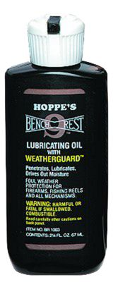 Hoppe's Bench Rest 9 Lubricating Oil with Weatherguard  by