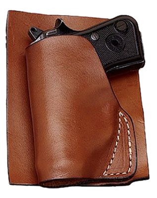 Hunter Company Leather Pocket Holster Brown Ruger Lcp .380