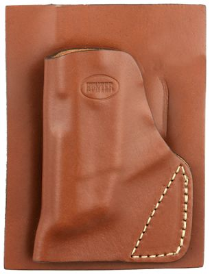 Hunter Company Leather Pocket Holster Brown Taurus Tcp