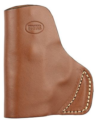 Hunter Company Leather Pocket Holster Brown S&w Bodyguard 9