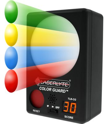 LaserLyte Color Guard Trainer Target  by