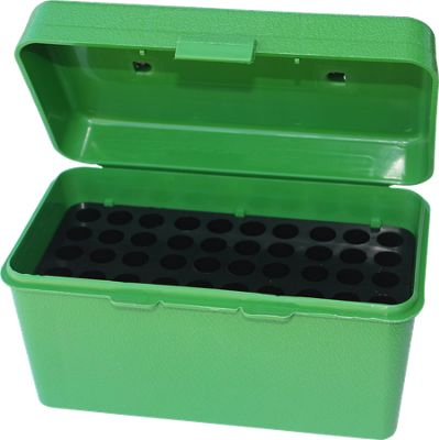 Mtm Case-Gard Deluxe H-50 Series Rifle Ammo Box 3.45'' by USA MTM Specialty Shooting & Gun Accessories