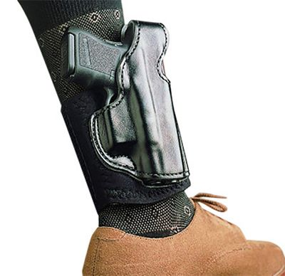 DeSantis Gunhide Die Hard Leather Ankle Holster  by