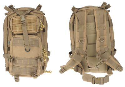 Drago Gear Tactical Tracker Backpack - Tan
