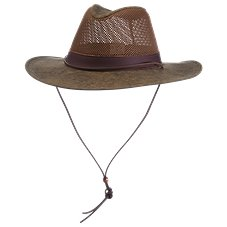 RedHead Aussie Crushable Breezer Hat with Leather Band