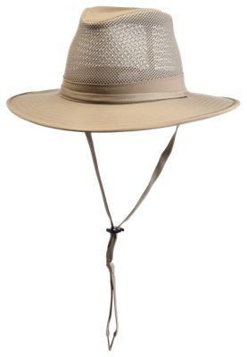 Image of RedHead Aussie Crushable Breezer Hat with Leather Band - Khaki - XL