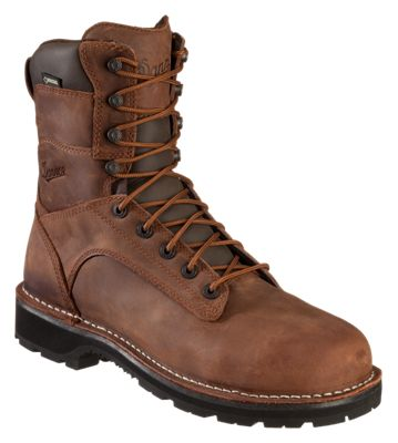 0028ed843cb Danner Workman AT GORE TEX Safety Toe Work Boots for Men Brown 11M