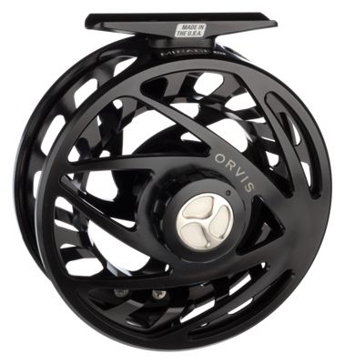 Orvis Mirage USA Fly Reel - Midnight Black - 2J6E 6110