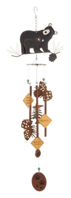 Sunset Vista Designs Babes Bear Wind Chime
