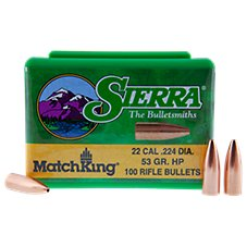 Sierra MatchKing Rifle Bullets