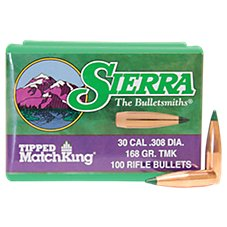 Sierra Tipped MatchKing Rifle Bullets