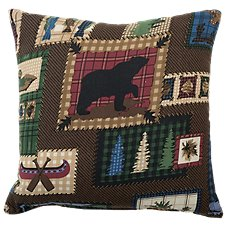 White River The Lake Bedding Collection Square Pillow