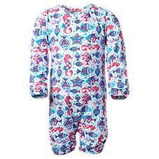 UV Skinz Long-Sleeve UV Sunzie for Toddlers or Baby Girls