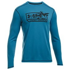 ac1c1a740 Under Armour ColdGear Infrared Mallard Pill Long-Sleeve T-Shirt for Men