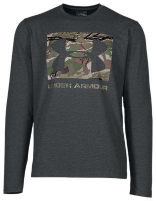 29950e31 Under Armour Camo Knockout Long Sleeve T Shirt for Men Cannon ...