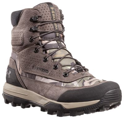 Under Armour Speed Freek Bozeman 2.0 Waterproof Hunting Boots for Men – Ridge Reaper Forest/Cannon/Cannon – 13 M