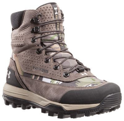 Under Armour Speed Freek Bozeman 2.0 Waterproof Hunting Boots for Ladies - Ridge Reaper Forest/Cannon/Smoke - 7.5 M thumbnail
