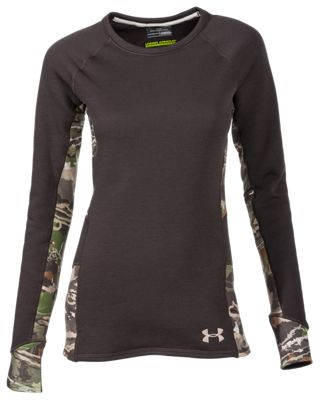 Under Armour Extreme Base Top for Ladies – Cannon/Ridge Reaper Camo Forest – L