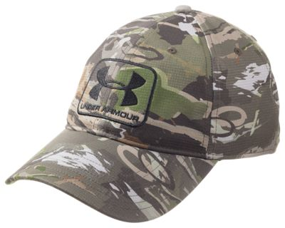 Under Armour HeatGear Camo STR Stretch Fit Cap for Men