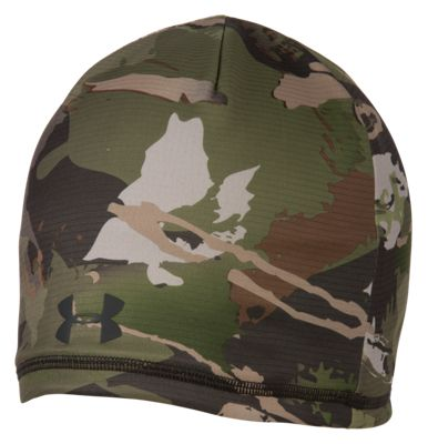 b364e5bbd53 Under Armour Scent Control Storm Fleece Beanie Ridge Reaper Camo Forest