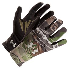 880899de3c314 Under Armour Scent Control Liner Gloves for Ladies. Ridge Reaper Camo Forest