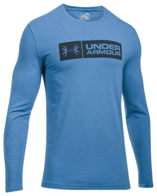 d1a421abc Under Armour Antler Tag Hunting Long Sleeve Shirt for Men Urban Blue Medium  HeatherAnthracite 3XL